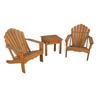 Adirondack Chair 3 Pc Combo