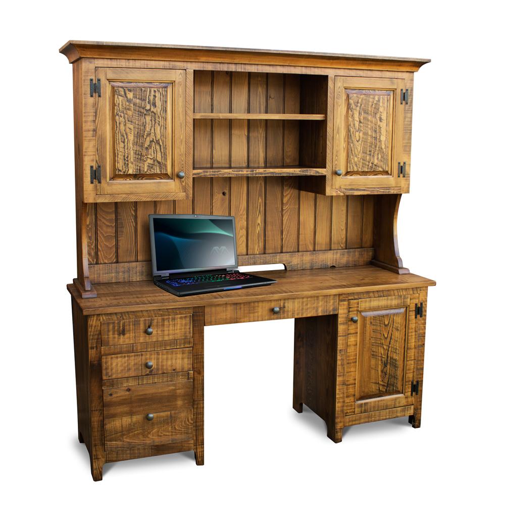 Rustic Shaker Desk W Top