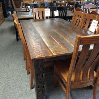Barnwood Table @ Pinhook 102 In Stock