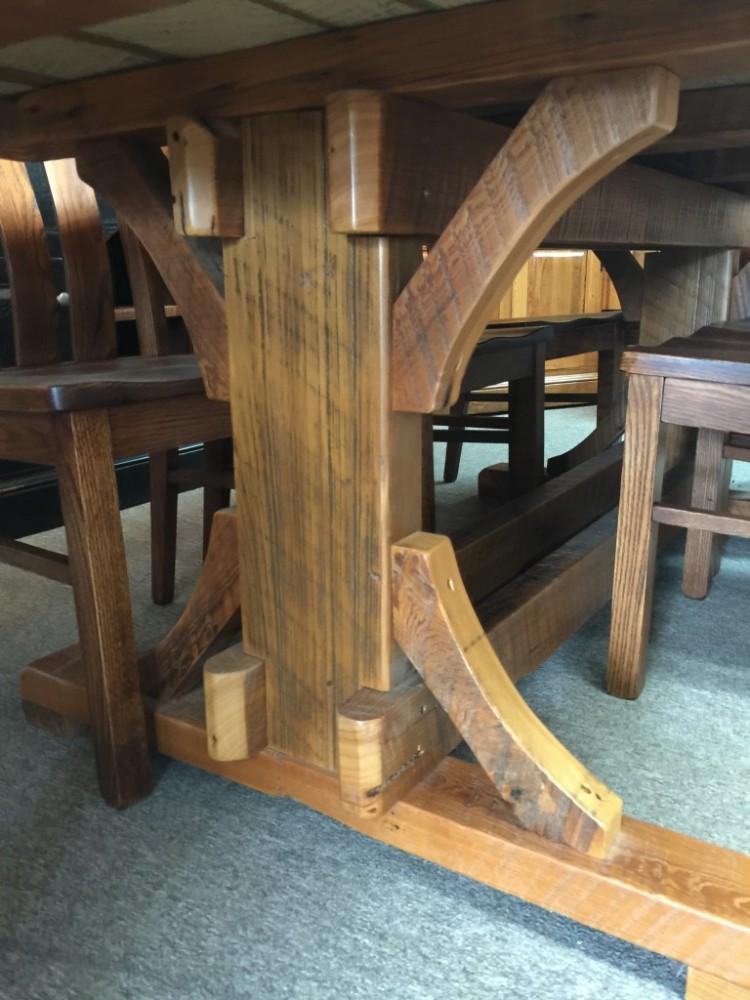 40 Quot X 7 Cajun Timber Frame Table Pinhook In Stock Ph