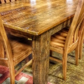 6′ Old Barn Wood Table @UL Store UL-175 Instock