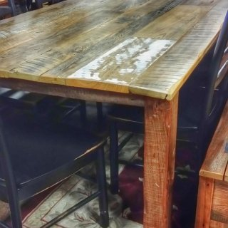 7′ Long Old Barn Wood Table @UL Store UL-177 Sold
