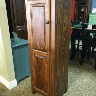 1 Door Pie Safe New Cypress in Coffee @ Baton Rouge in Stock BR-253
