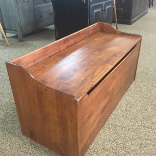 47″ Parawood Toy Chest in Classic Fruitwood @ Baton Rouge BR-258 SOLD
