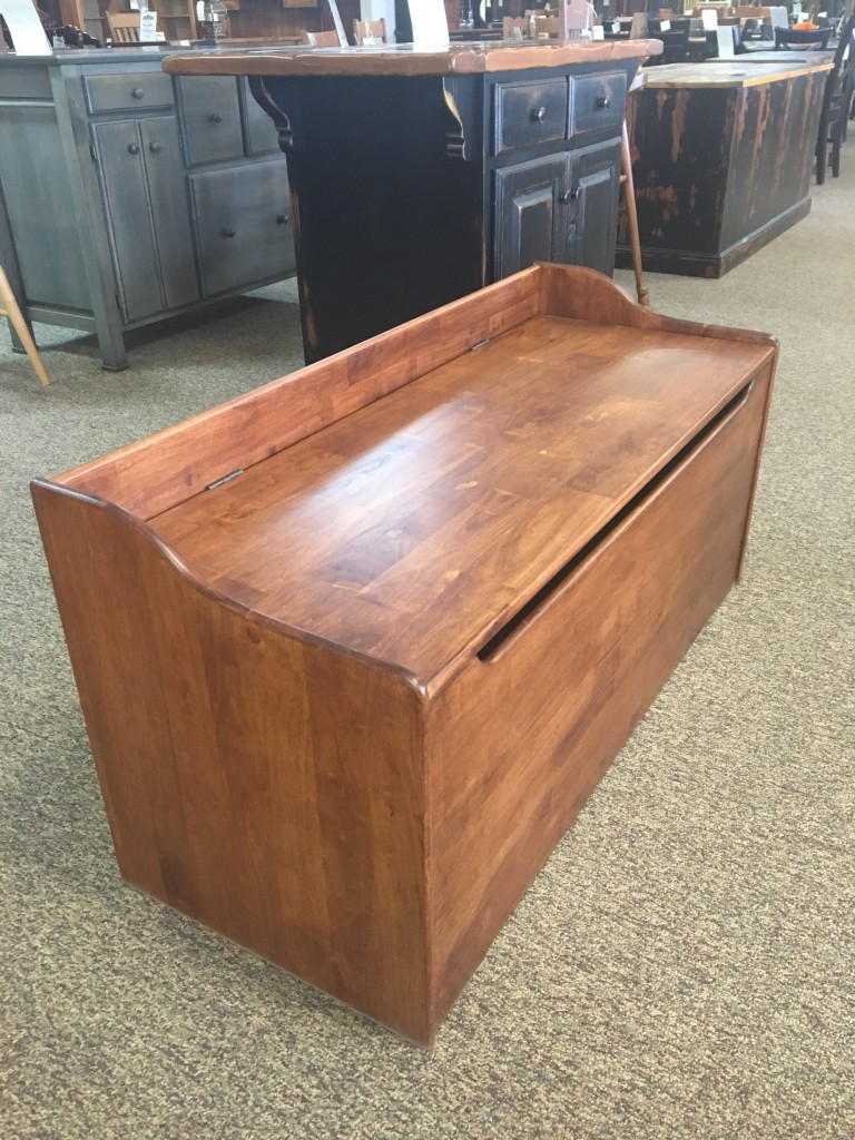 47 Parawood Toy Chest In Classic Fruitwood Baton Rouge