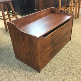 37″ Parawood Toy Chest in Coffee @ Baton Rouge BR-260 SOLD
