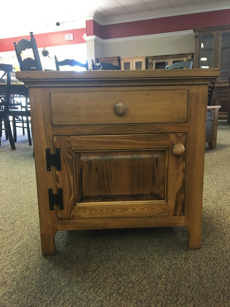 New Cypress Smooth Shaker Nightstand In Whisky Baton
