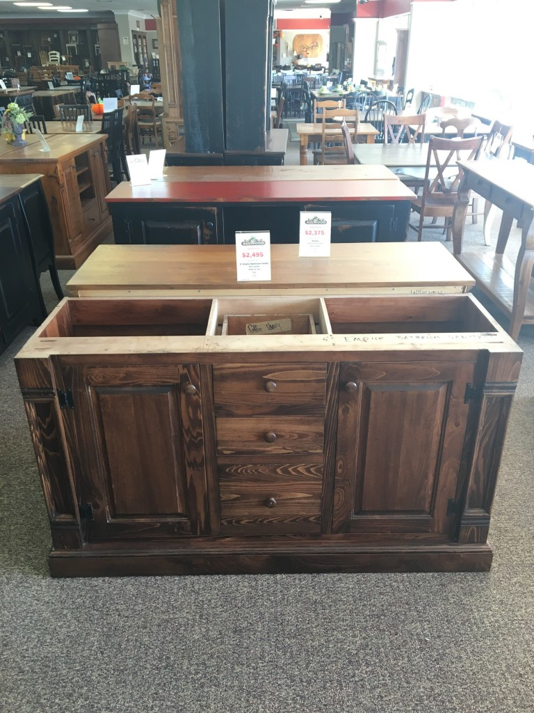 5 39 empire bathroom vanity baton rouge in stock br 268 - Bathroom vanities nebraska furniture mart ...