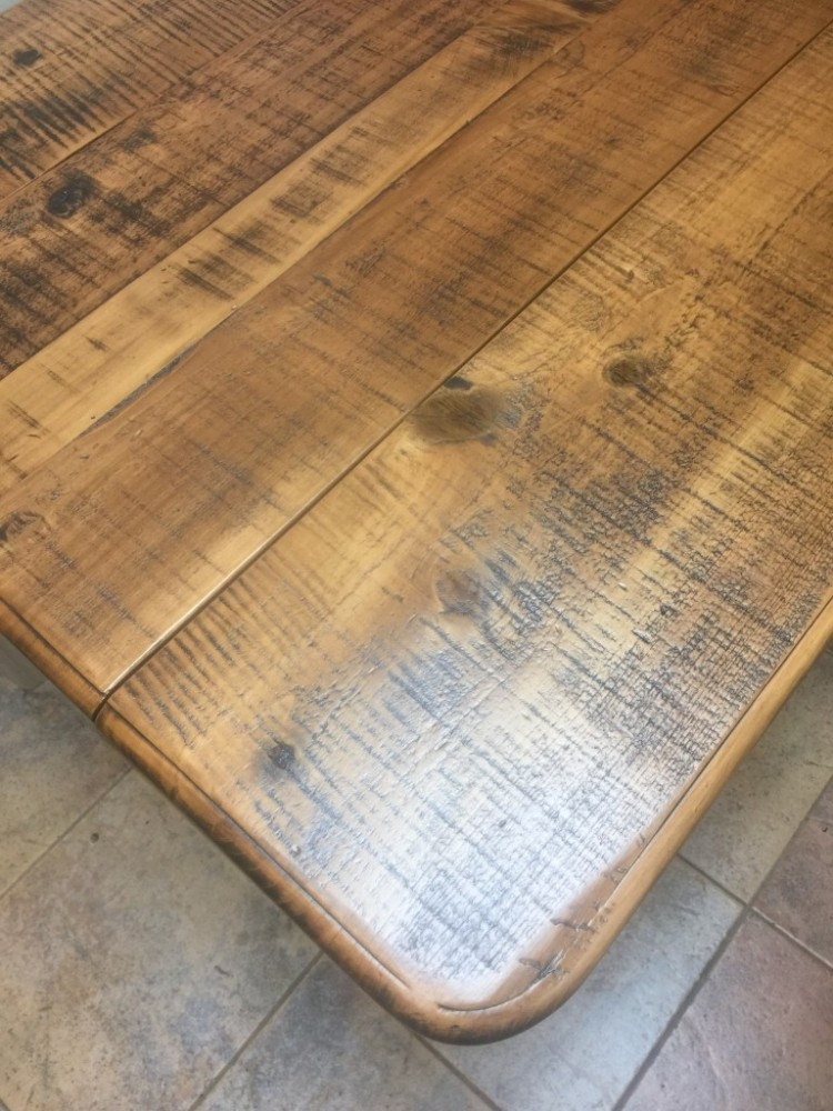 French Table W Leaves Baton Rouge Br 224 All Wood