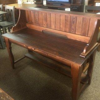 Classique Desk w/ Shelf @ Baton Rouge BR-227