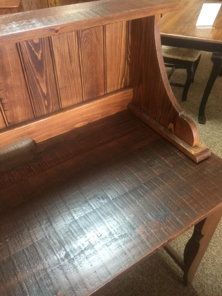 Classique Desk W Shelf Baton Rouge Br 227 All Wood
