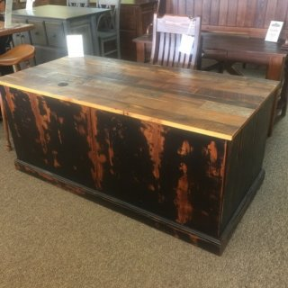 Barnwood Executive Desk @ Baton Rouge BR-228 SOLD