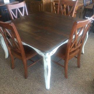 54″ Square Fleur De Lis Table @ Baton Rouge BR-234 SOLD