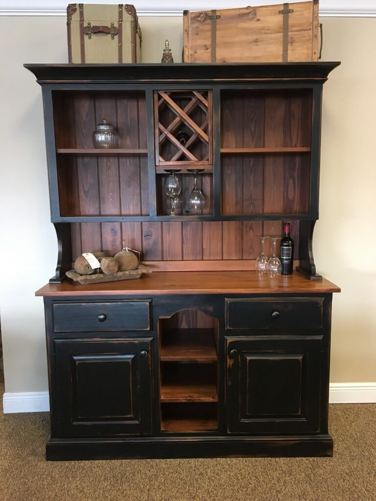 under black tagged worn new furniture stock in rouge plank wood top img store baton buffet with hutch country antique coffee cypress br filed all