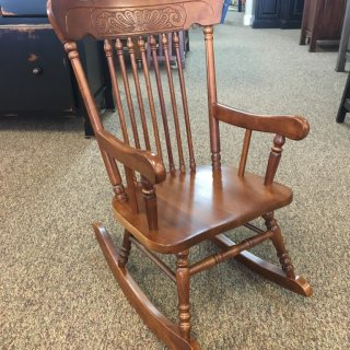 Amish Boston Child's Rocker in Michael's Cherry @ Baton Rouge BR-292 SOLD