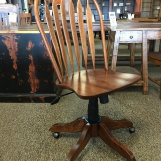 Office Rolling Desk Chair in Coffee @ Baton Rouge in Stock BR-294
