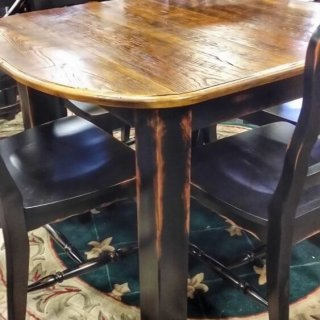 4′ Block Leg Table @UL Store UL-183 In Stock