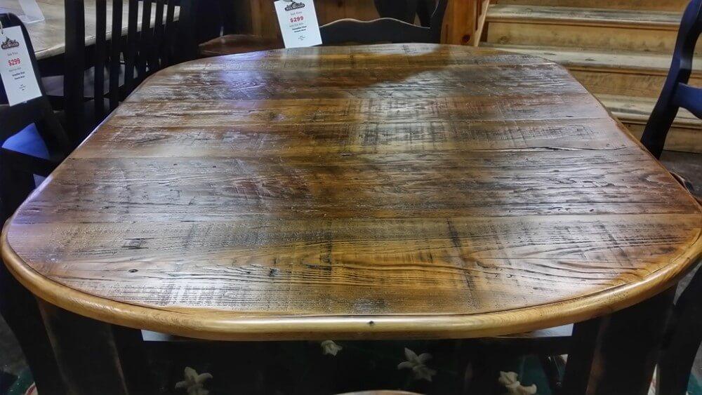 4 39 Block Leg Table Ul Store Ul 183 In Stock All Wood