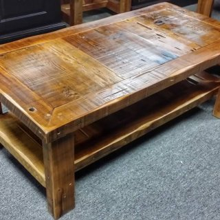 Barn Wood Coffee Table @UL Store UL-187 In Stock