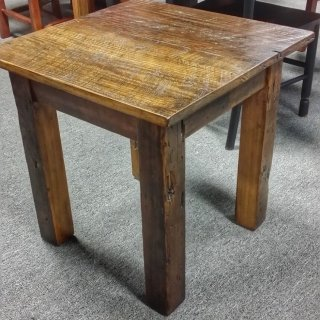 Barn Wood End Table @UL Store UL-189 In Stock SOLD