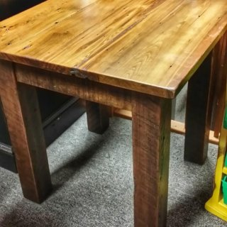 Barn Wood End Table @UL Store UL-188 In Stock