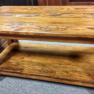Pecky Coffee Table @UL Store UL-191 In Stock