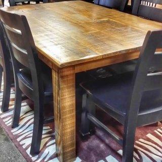 Block Leg Table @UL Store UL-194 In Stock