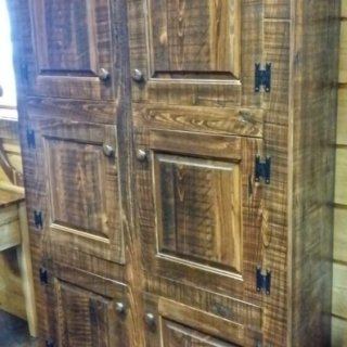 Rustic Shaker 6 Door Pie Safe @UL Store UL-198 In Stock