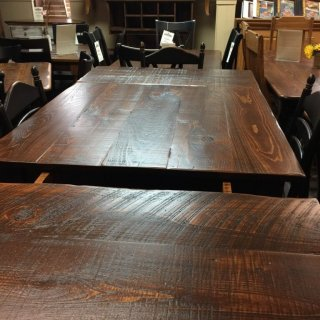 Block Leg Pub Table @ Pinhook PH-116 In Stock