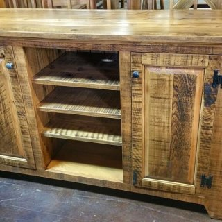 Rustic Shaker TV Stand @UL Store UL-203 In Stock