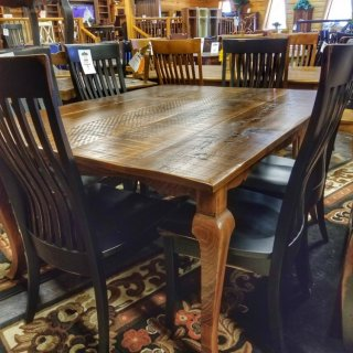 5′ Long Cabriole Table @UL Store UL-219 In Stock