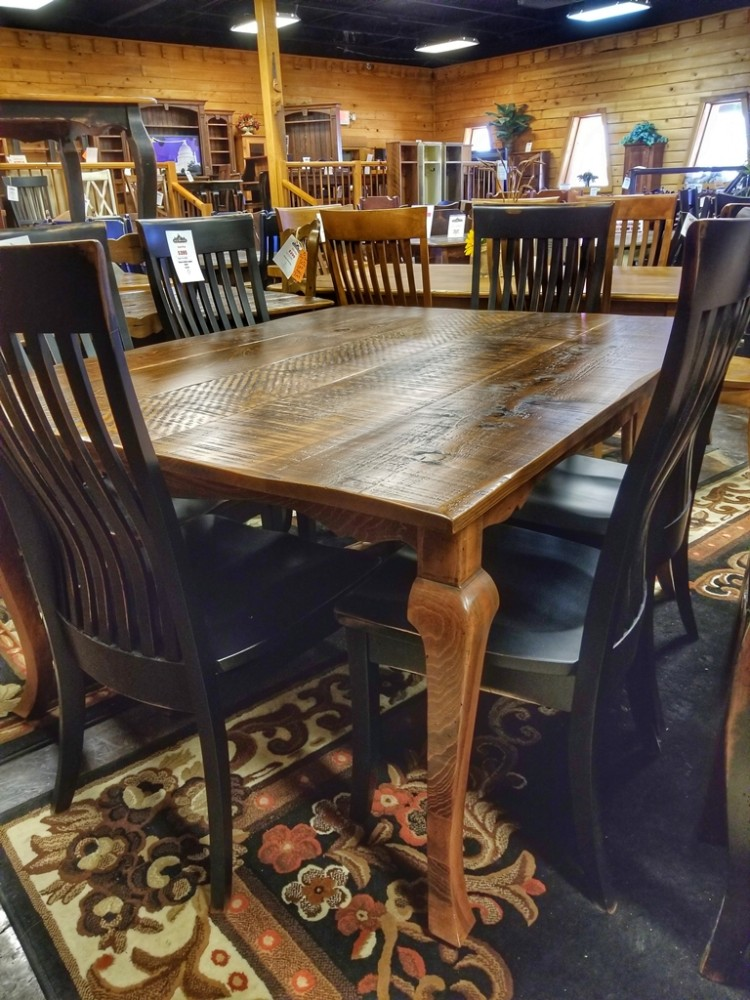 5 39 Long Cabriole Table Ul Store Ul 219 In Stock All Wood Furniture