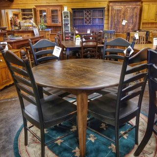 "48"" Round Shaker Table @UL Store UL-215 In Stock"