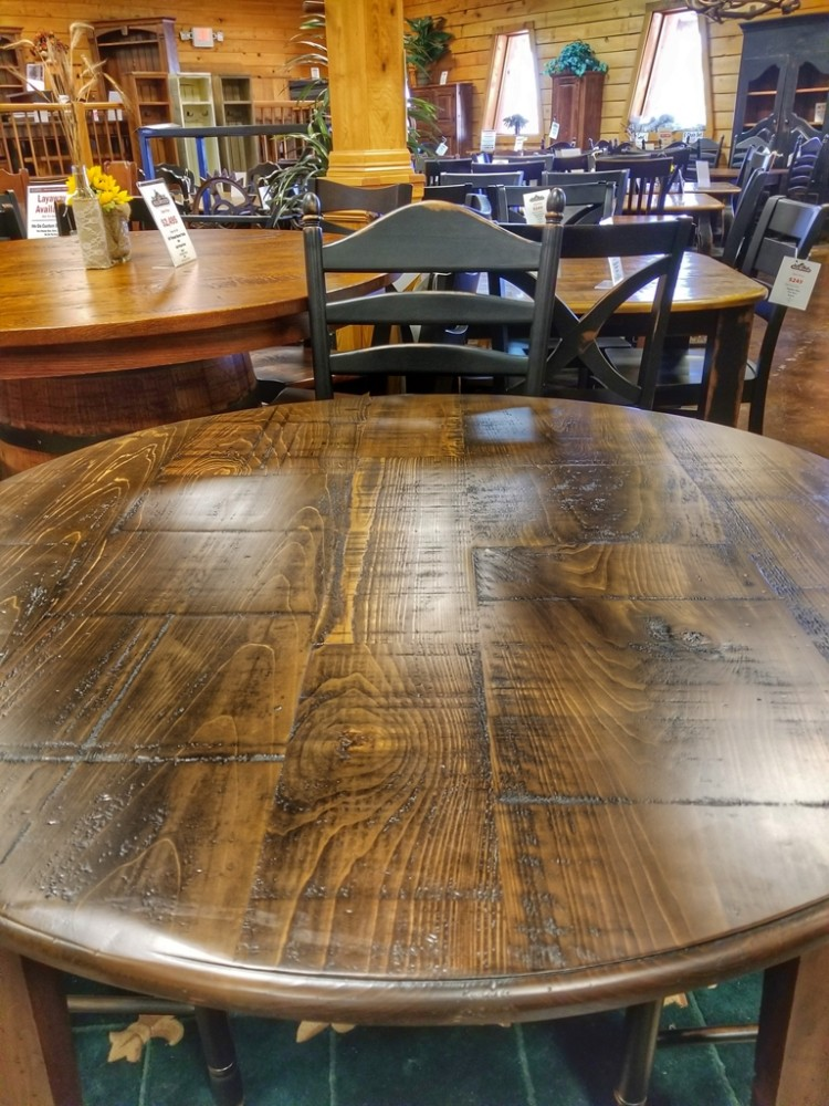 48 39 39 Round Shaker Table Ul Store Ul 215 In Stock All Wood Furniture