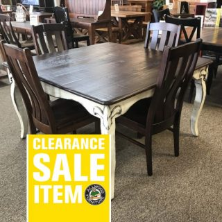 54″ x 54″ Fleur De Lis Table @ Baton Rouge In Stock BR-321