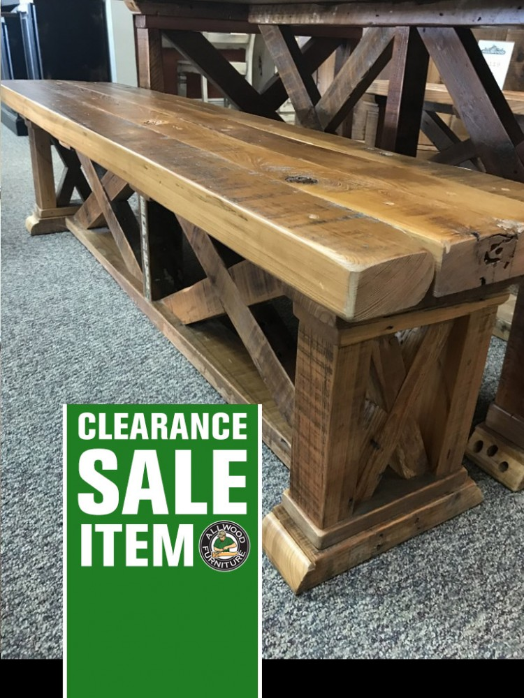 15 Quot X 6 Vintage X Barnwood Bench Baton Rouge In Stock