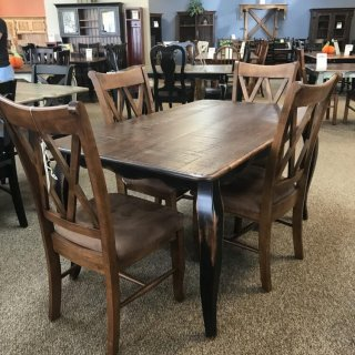 36″ x 5′ French Leg Table @ Baton Rouge In Stock BR-304
