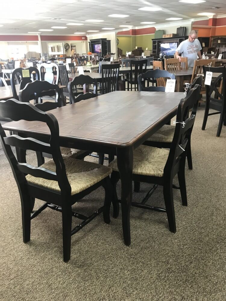 40 X 6 39 Creole Leg Table Baton Rouge Br 334 Sold All Wood Furniture