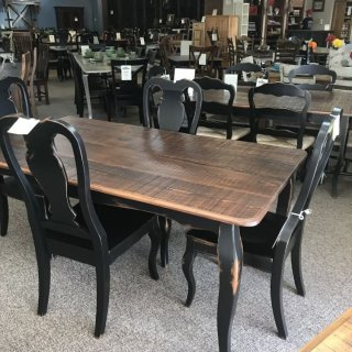 40″ x 6′ French Leg Table @ Baton Rouge BR-305 SOLD