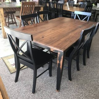 40″ x 6′ Shaker Leg Table @ Baton Rouge In Stock BR-306
