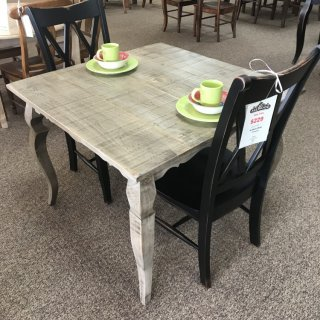 40″ x 40″ Sabre Leg Table @ Baton Rouge In Stock BR-310