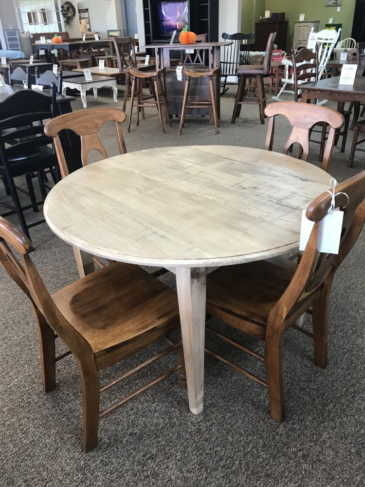 48 Quot Round Shaker Leg Table Baton Rouge In Stock Br 311
