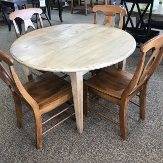 48″ Round Shaker Leg Table @ Baton Rouge In Stock BR-311