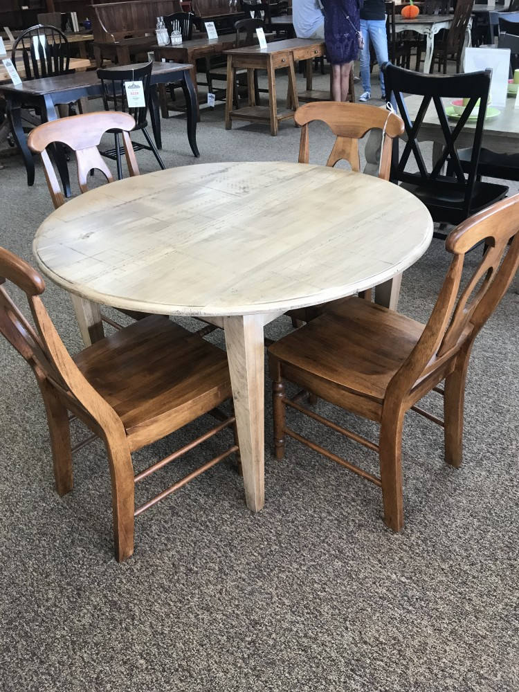 48 Round Shaker Leg Table Baton Rouge In Stock Br 311
