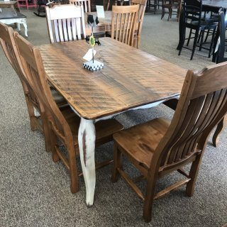 40″ x 5′ French Leg Table @ Baton Rouge In Stock BR-314