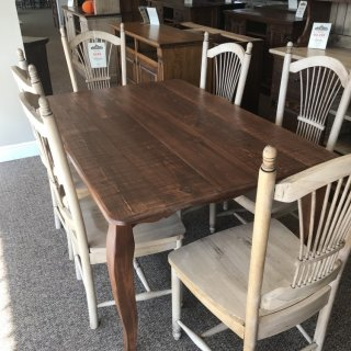 40″ x 6′ French Leg Table @ Baton Rouge In Stock BR-315