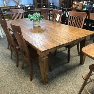 48″ x 8′ Giant Notched Taper Table @ Baton Rouge BR-323 SOLD