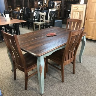 40″ x 5′ French Leg Table @ Baton Rouge BR-324 SOLD