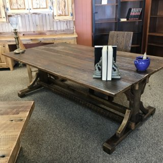 48″ x 7′ Trestle Base Office Desk @ Baton Rouge In Stock BR-329