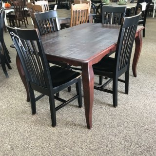 40″ x 5′ French Leg Table @ Baton Rouge In Stock BR-330